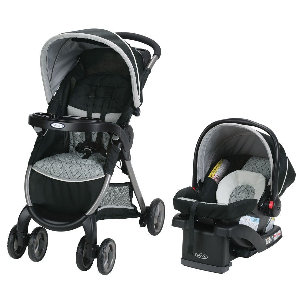 Baby Strollers Target Graco Fastaction Fold Click Connect Travel System Asher