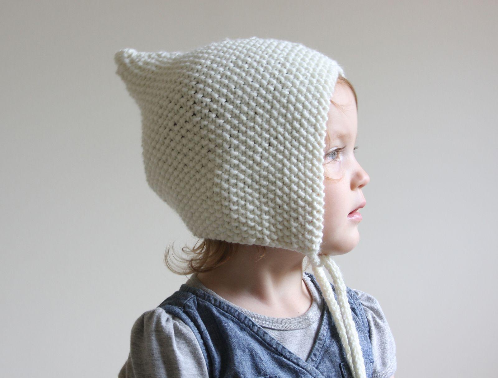 Baby Pixie Bonnet pattern by Hilary Frazier | Bonnet pattern, Baby ...