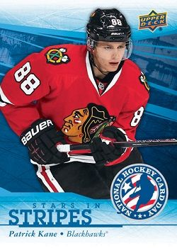 Patrick Kane Hockey Card Day In The Usa Hockey Cards Hockey Kane Blackhawks