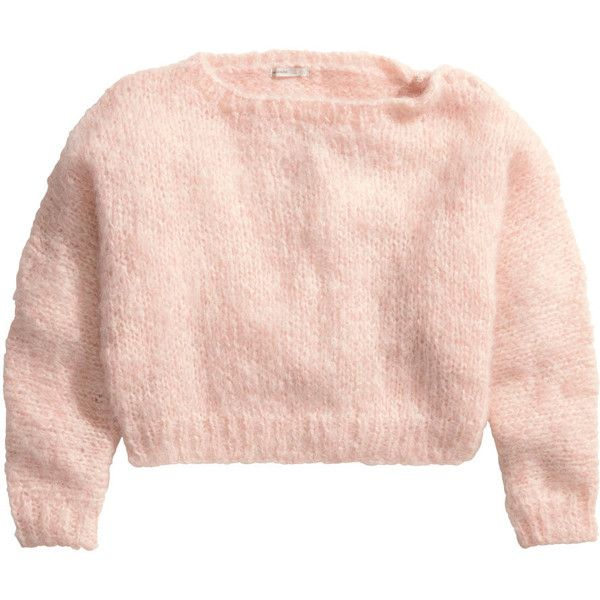 H&M Mohair jumper ($13) found on Polyvore featuring tops, sweaters ...