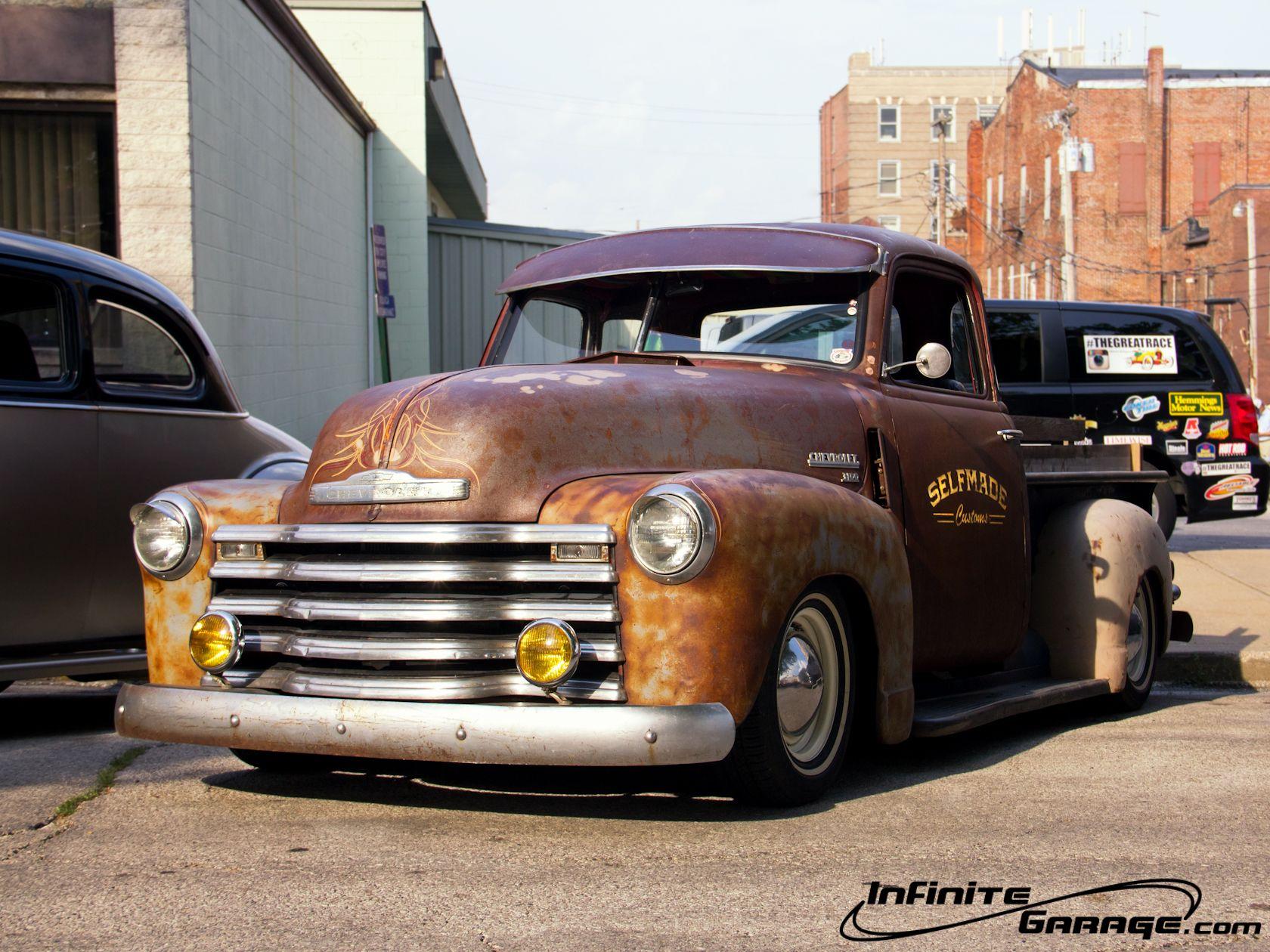 Chevy Rat Rod Truck Wallpaper Infinite Garage Rat Rod Cars Rat Rods Truck Rat Rod