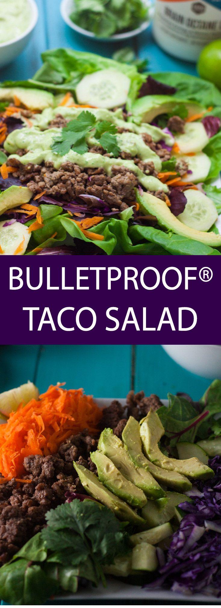 Bulletproof Taco Salad #tacosalad