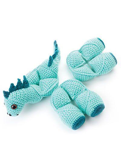 Amamani Puzzle Balls Crochet Pattern Book #crochetdinosaurpatterns