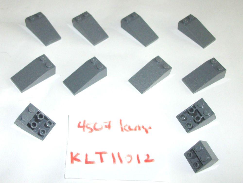12 70 Ebay Lego Starwars Lego Dark Stone Blue Gray 30363 2x4x1 R Roof Tiles Lego Blue Grey