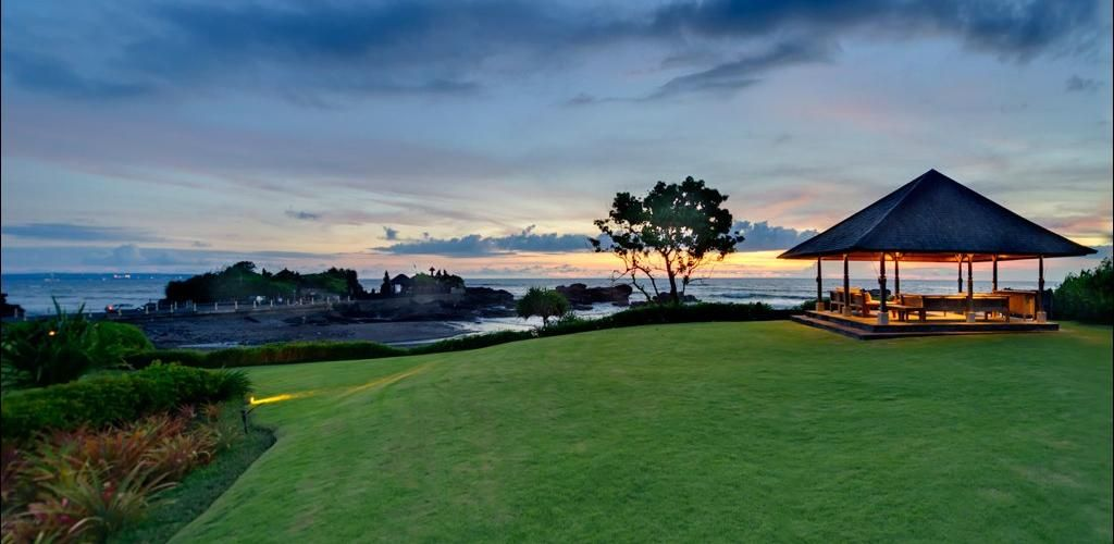 Beach Front villa in #Tanahlot http://www.balilocations.com/villas/tanah-lot/bvta608