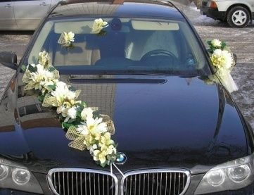 Wedding car decoration 9 bodas pinterest arranjos decorao wedding car decoration 9 junglespirit