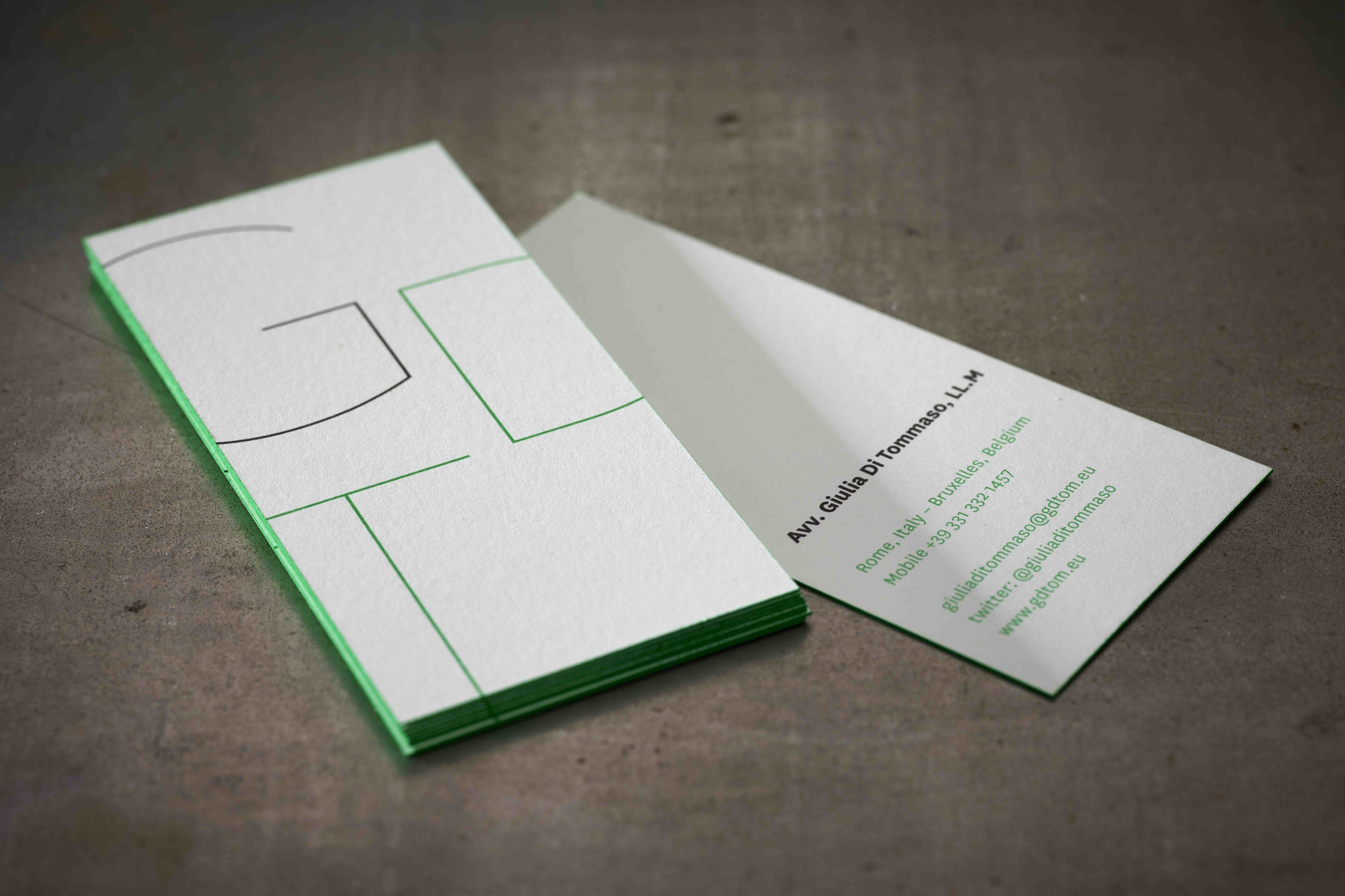 business cards gdt offset printing on lessebo design paper