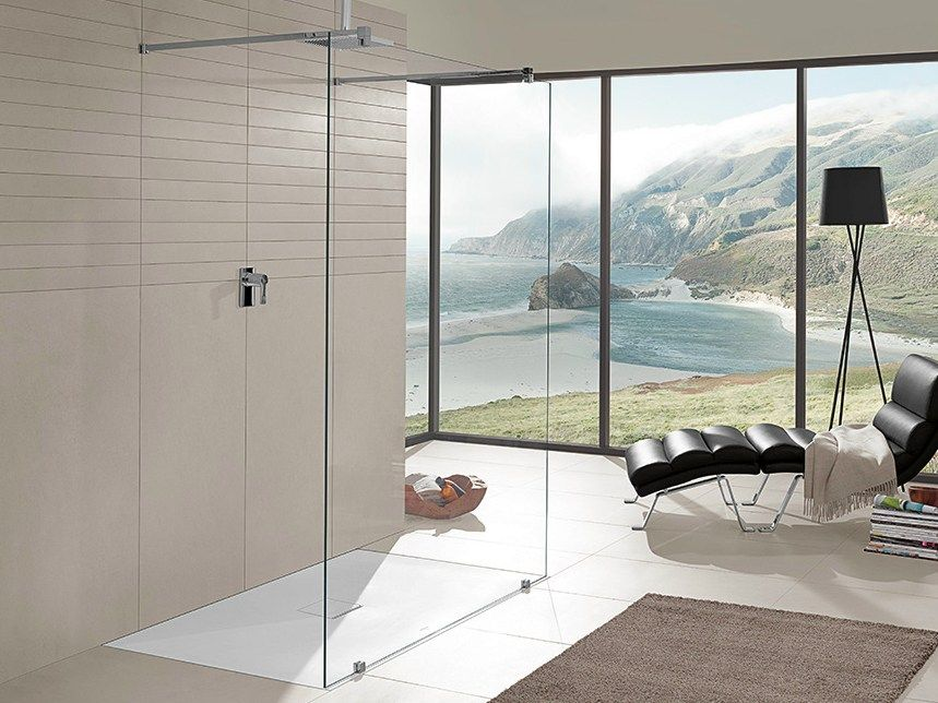Quaryl Shower Tray Squaro Infinity By Villeroy Boch Shower Tray Bathroom Design Inspiration Home