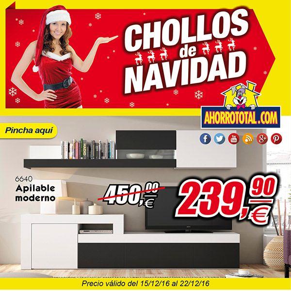 No te pierdas los Chollos de Navidad en Ahorro Total Mueble de