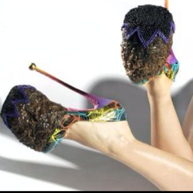 Insa shoes made with dung platforms :-0