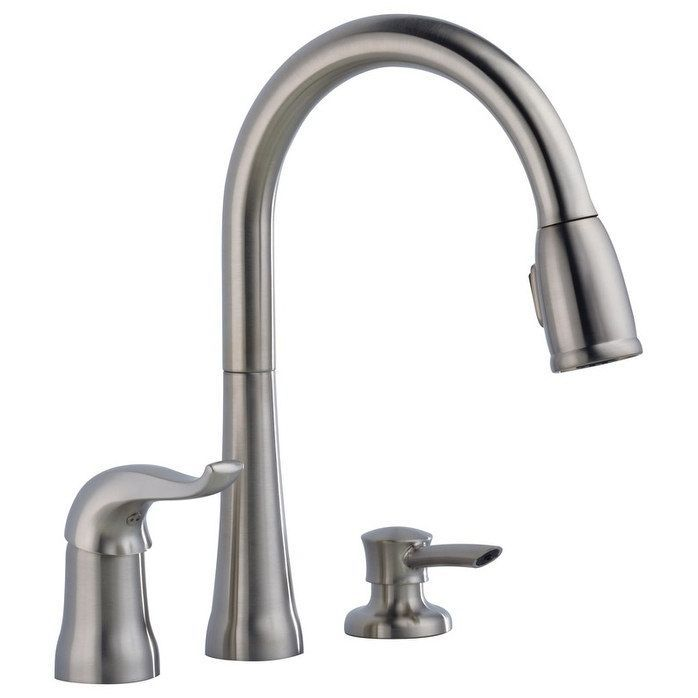 Silver Kitchen Faucet Stainless Steel