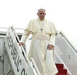 Visit Korea(14~18/Aug/2014). Pope Francis.환영합니다.Thanks!!