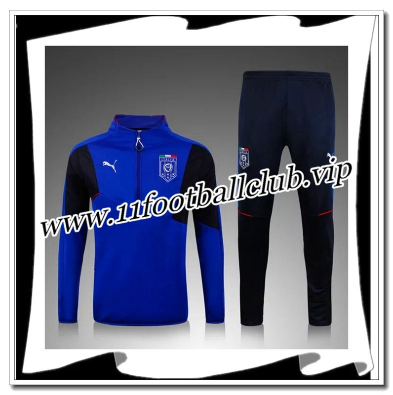 Le Nouveau Survetement de foot Italie Bleu 2015 2016