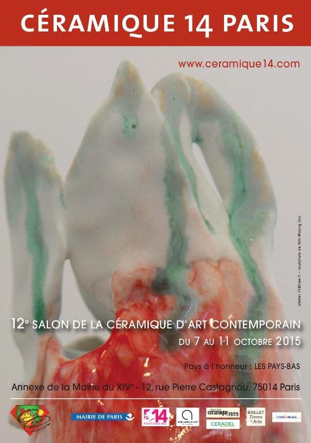 affiche salon Céramique 14
