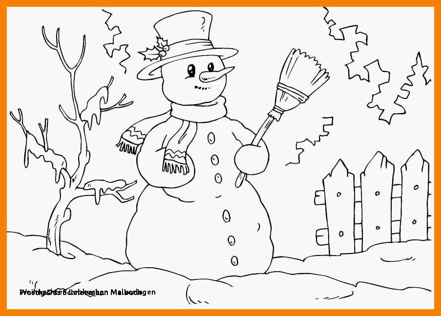 Ausmalbilder Weihnachten Schneemann Window Color Vorlagen