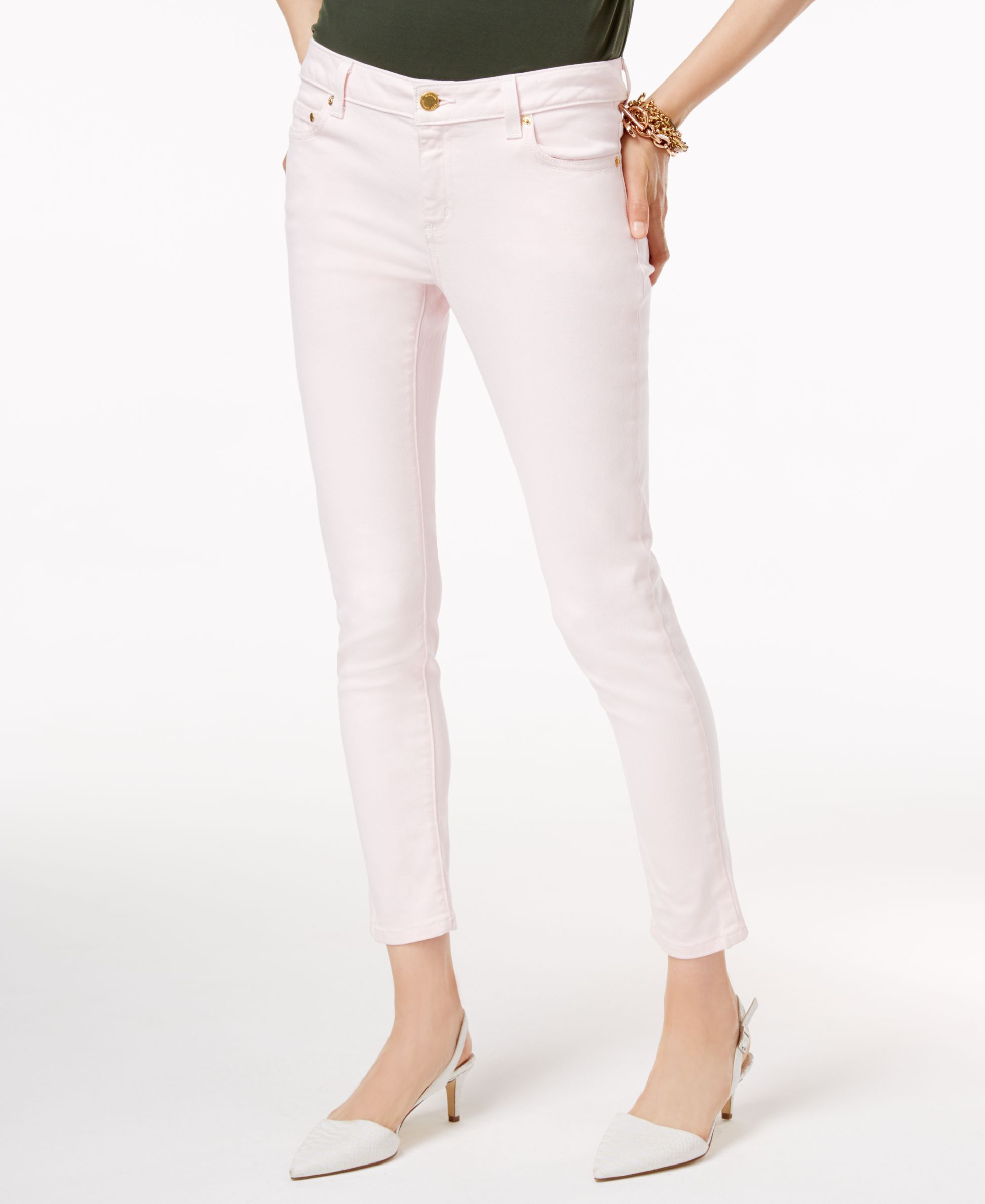 007c3aa9d236 Michael Michael Kors Izzy Cropped Skinny Jeans | Products