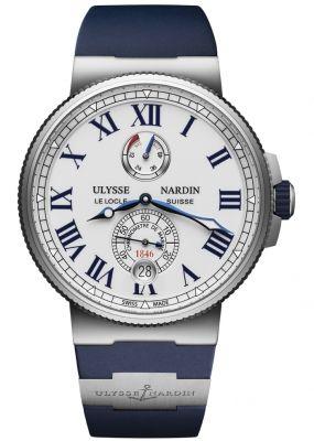 5fa6cba915f6 Ulysse Nardin Marine Chronometer Manufacture 45mm 1183-122-3 40 in ...