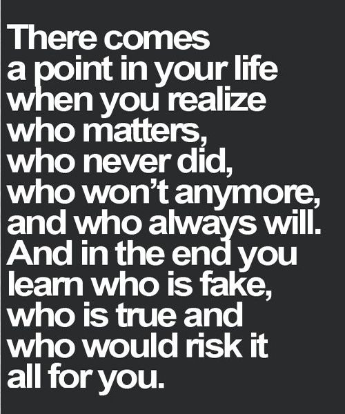 Learn Who Is Fake Life Quote Full Dose Words Quotes Life Quotes Words