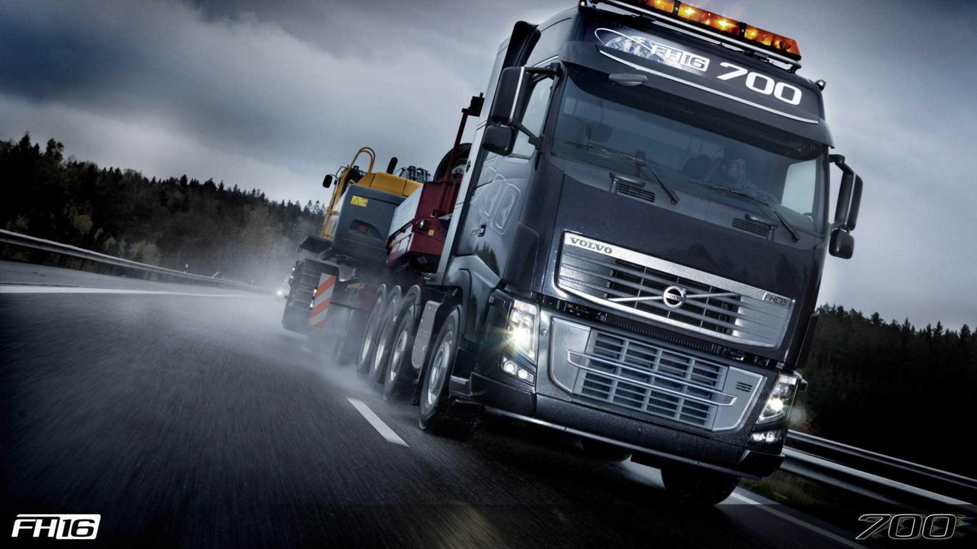Volvo Truck Wallpaper Full HD OG4 Cars Pinterest Volvo