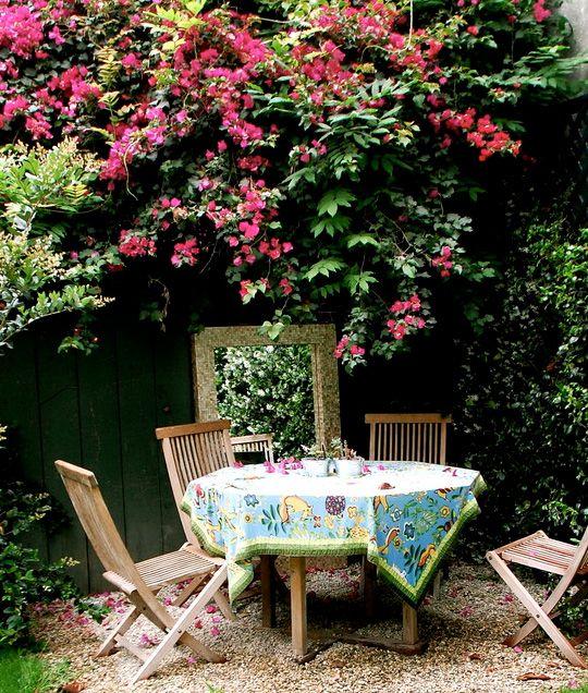 Pin de elena marquez en hogar for Jardineria al aire libre casa pendiente
