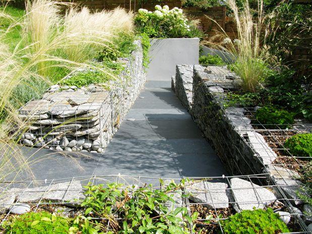 Low Gabion The Landscape Architect Garden Design London