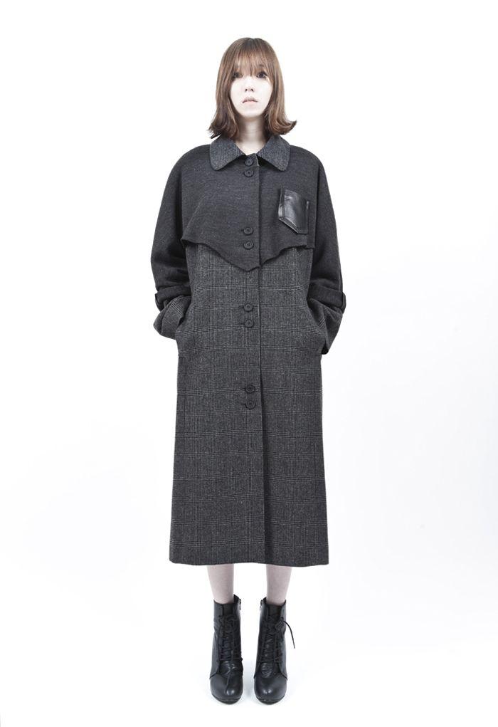 WCONCEPT:W컨셉 - [WISHBORN:위시본] long length coat