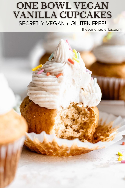The Best Vegan Vanilla Cupcakes The Banana Diaries Recipe In 2020 Vanilla Cupcakes Vegan Vanilla Cupcakes Vegan Dessert Recipes