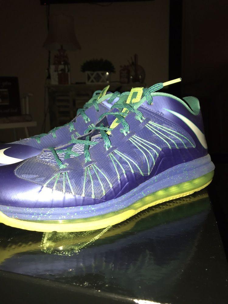 29ea379ffea Nike Air Max LeBron James X Low  Sprite  Volt Platinum (Size 10)  fashion   clothing  shoes  accessories  mensshoes  athleticshoes (ebay link)