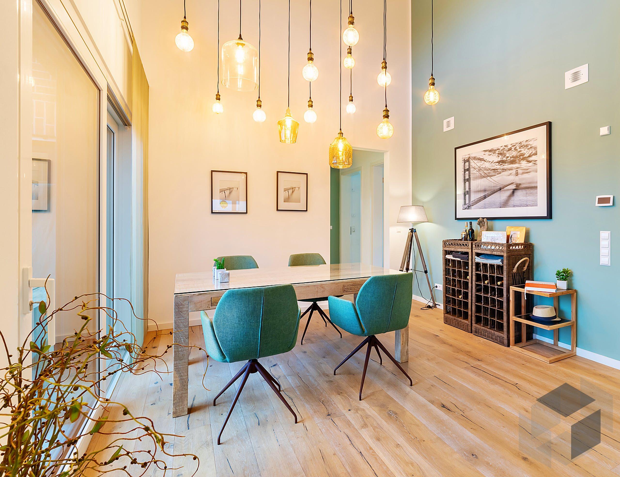 Esszimmer Idee aus dem 'Musterhaus Stelle' von OKAL Haus