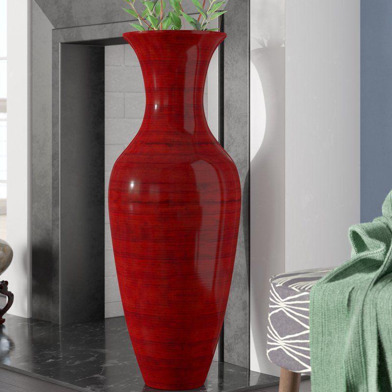 Kalb Bamboo Floor Vase Floor Vase Floor Vase Decor Large Floor Vase