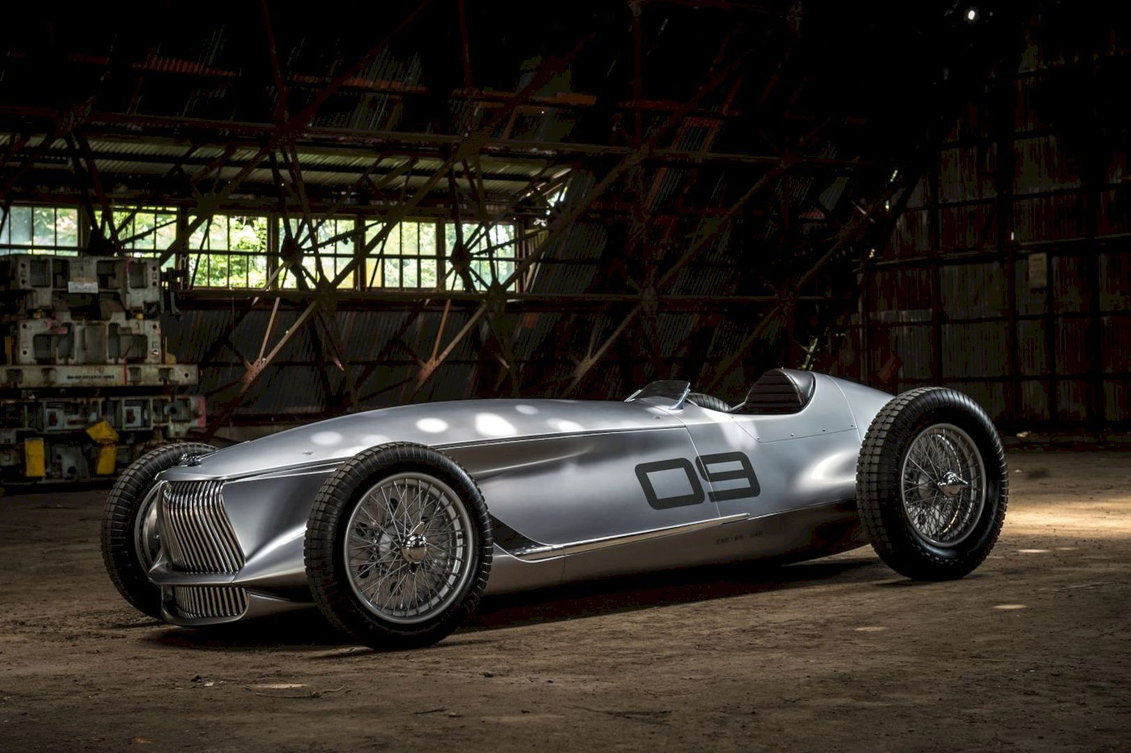 Infiniti Prototype 9 Concept The Old New Perspective In Retro Faced