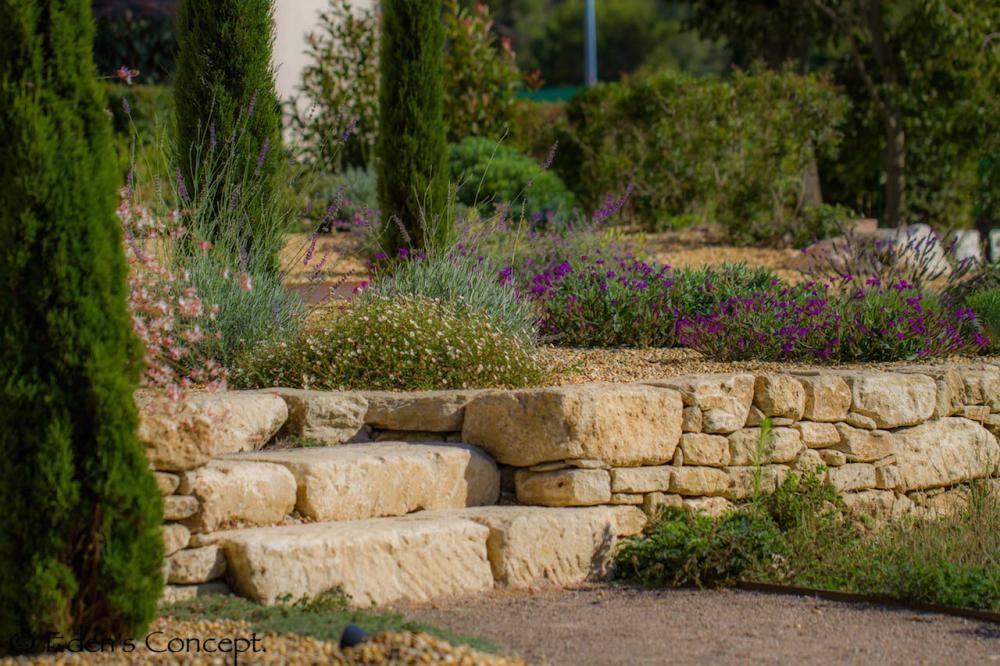 mur pierres s ches jardin patio pinterest garten and gardens. Black Bedroom Furniture Sets. Home Design Ideas