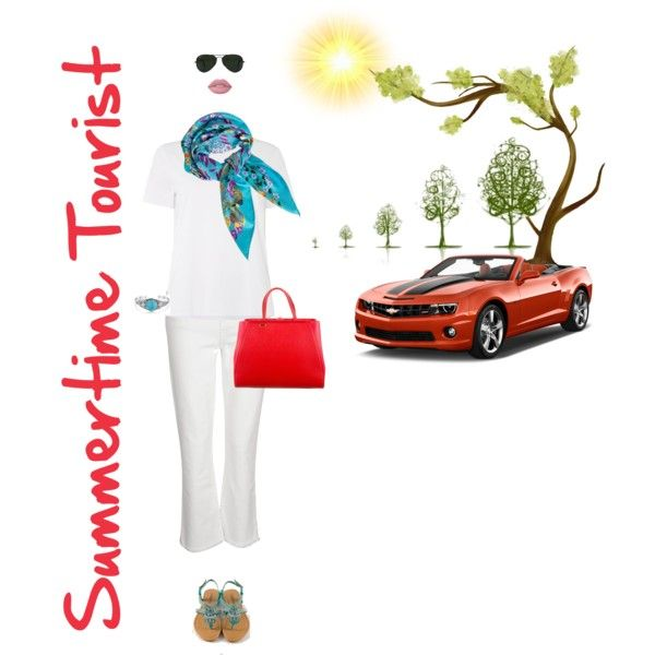 Summertime Tourist