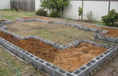 Maceteros con bloques de cemento ideas con bloques for Bloques de cemento para jardin