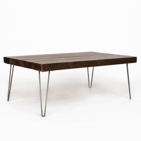 Mid Century Modern Coffee Table Narrow Sofa End Choice Of Size Wood Thickness And F