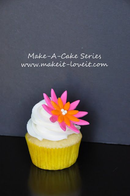 Make-a-Cake Series: Cut-out Flowers | Make It and Love It