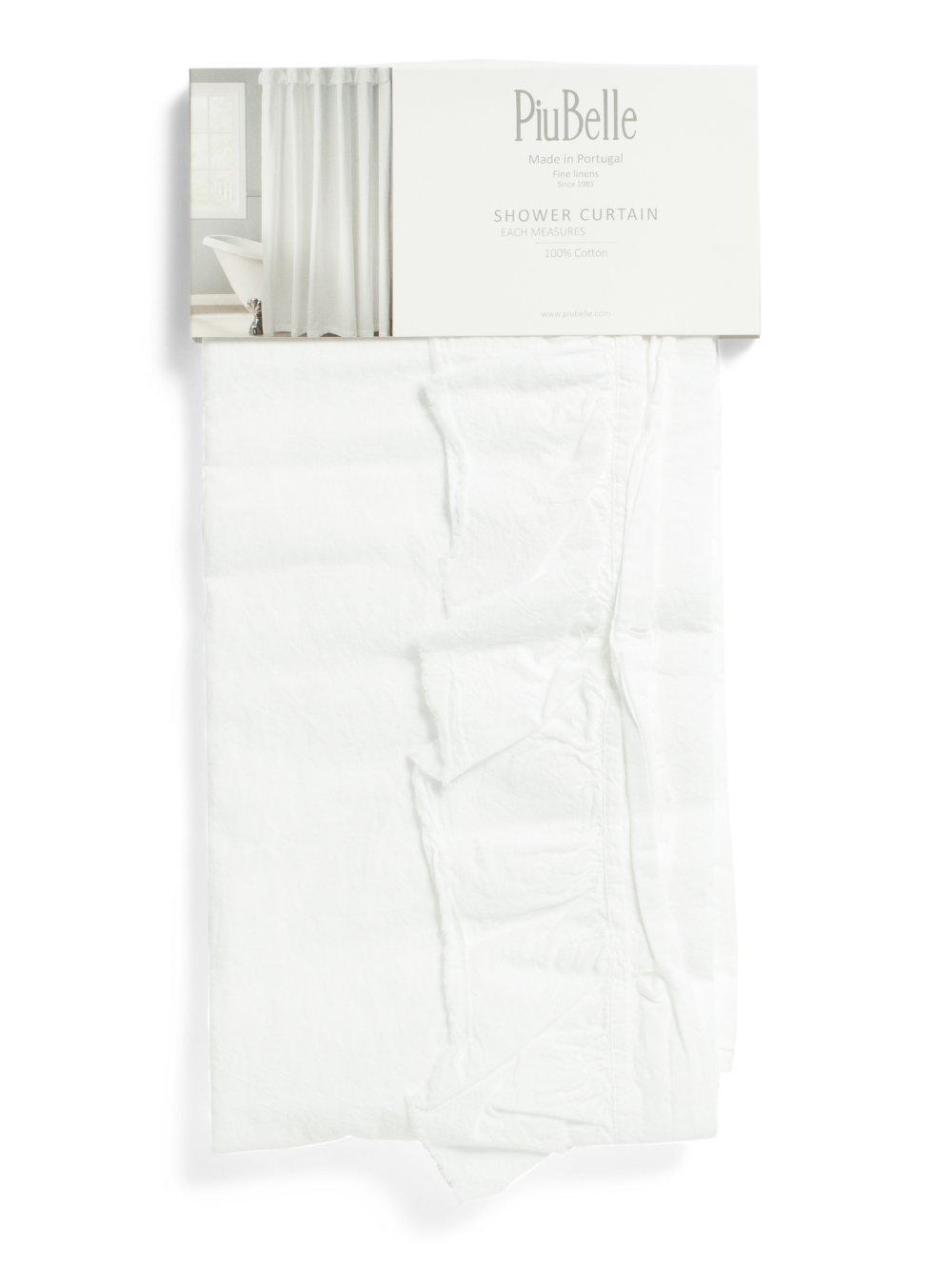 Made In Portugal Ruffle Shower Curtain Bath T J Maxx In 2020