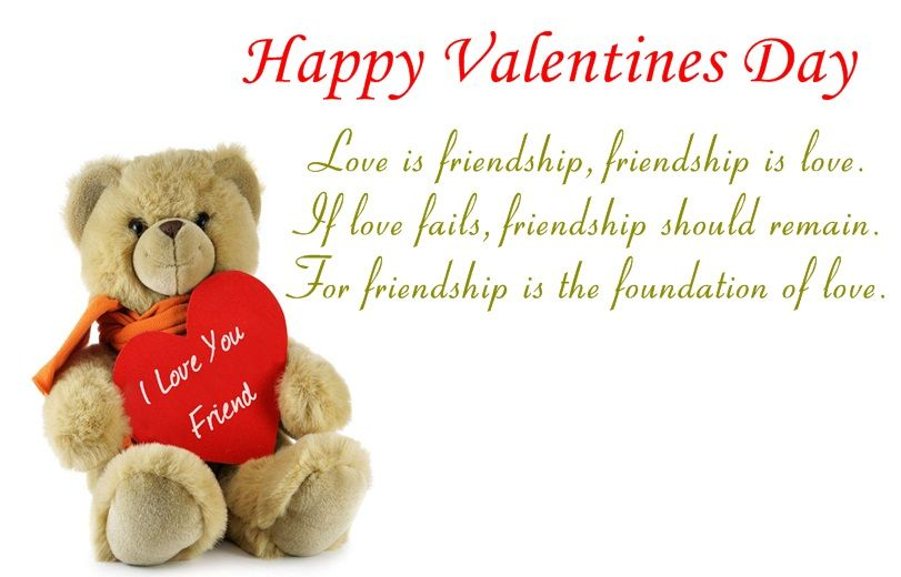 Friendship is more than love Here are few friendship quotes for – Valentine Card Friendship Quotes
