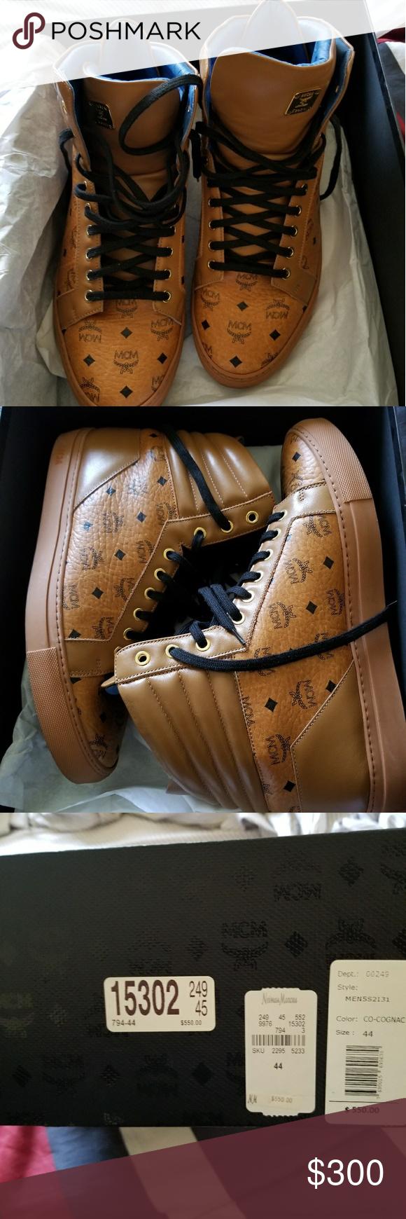 MCM Shoes Size 44 MCM Shoes Sneakers Mcm shoes, Shoes