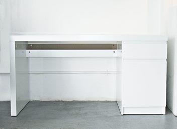 IKEA   MALM Desk, White 140x65 Cm