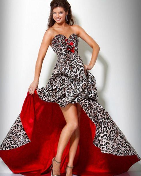 short front long back prom dresses - Dress Yp