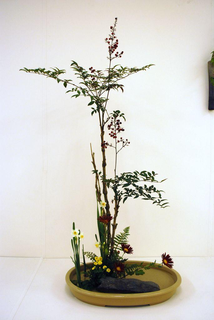 """Yamato Misyoryu"" Ikebana Exhibition in Kusatsu | by sansaistudio.com"