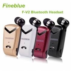 Fineblue F-V2 Portable Wireless Bluetooth 4.0 Headset USB Charging Port Earphones For iPhone Samsung
