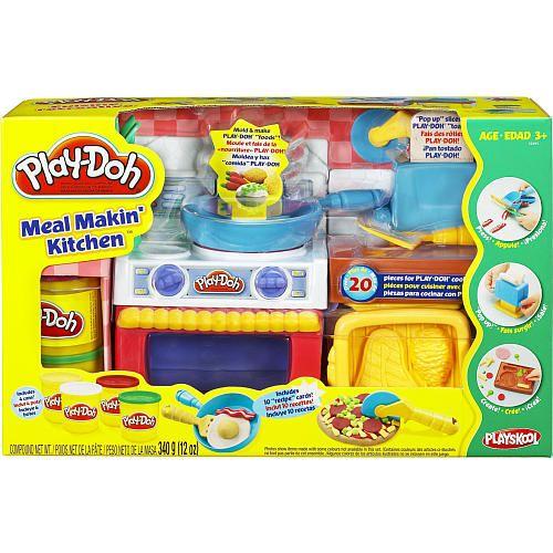 "play-doh fun with food - meal makin' kitchen - hasbro - toys ""r"