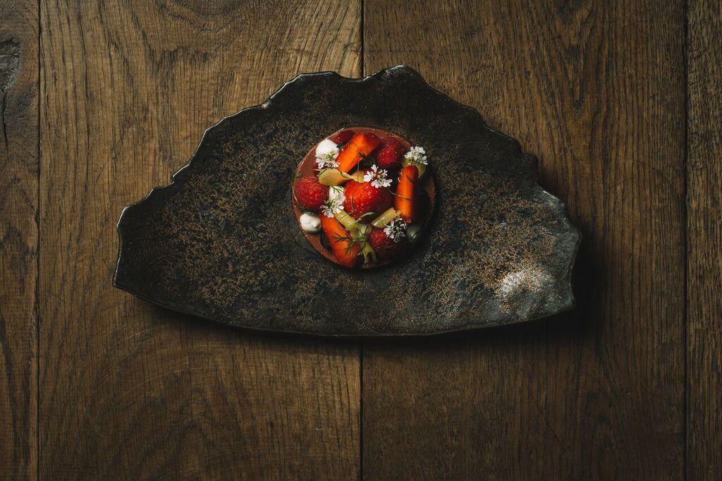 The World come to Geneva  4 hands series Chef Matt Lambert  - La Bottega