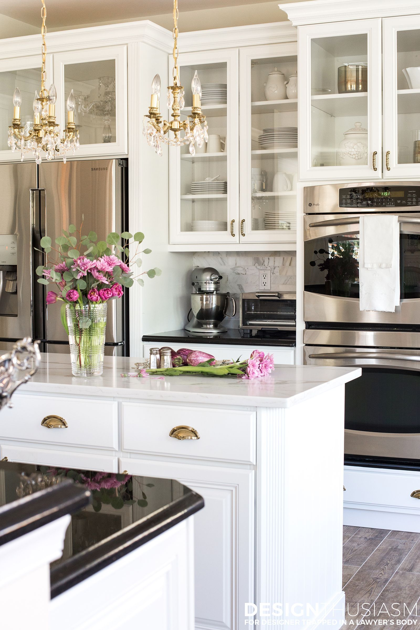 Dramatic Kitchen Makeover Without Removing Cabinets Dream Kitchen Remodel Ideas On A Budget K Budget Kitchen Remodel Kitchen On A Budget Kitchen Renovation