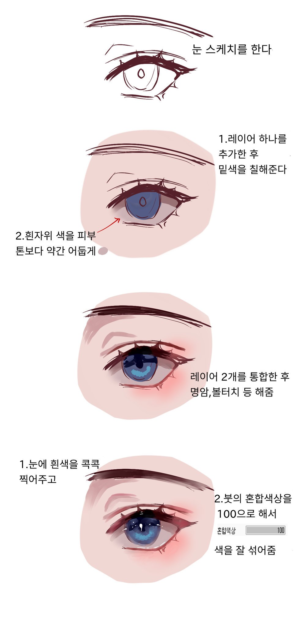 Eyes Colouring Anime Eye Drawing Anime Drawings Tutorials Digital Painting Tutorials