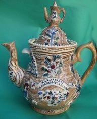 Uk Antique Teapots Google Search