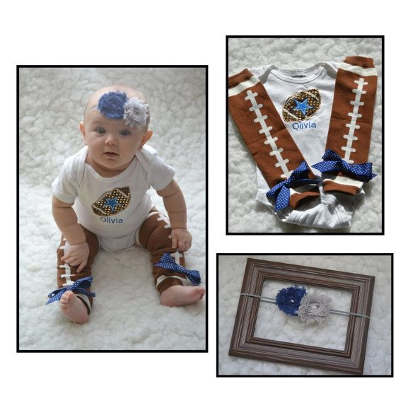4ed335b6415 Dallas cowboys baby outfit...baby girl needs this!