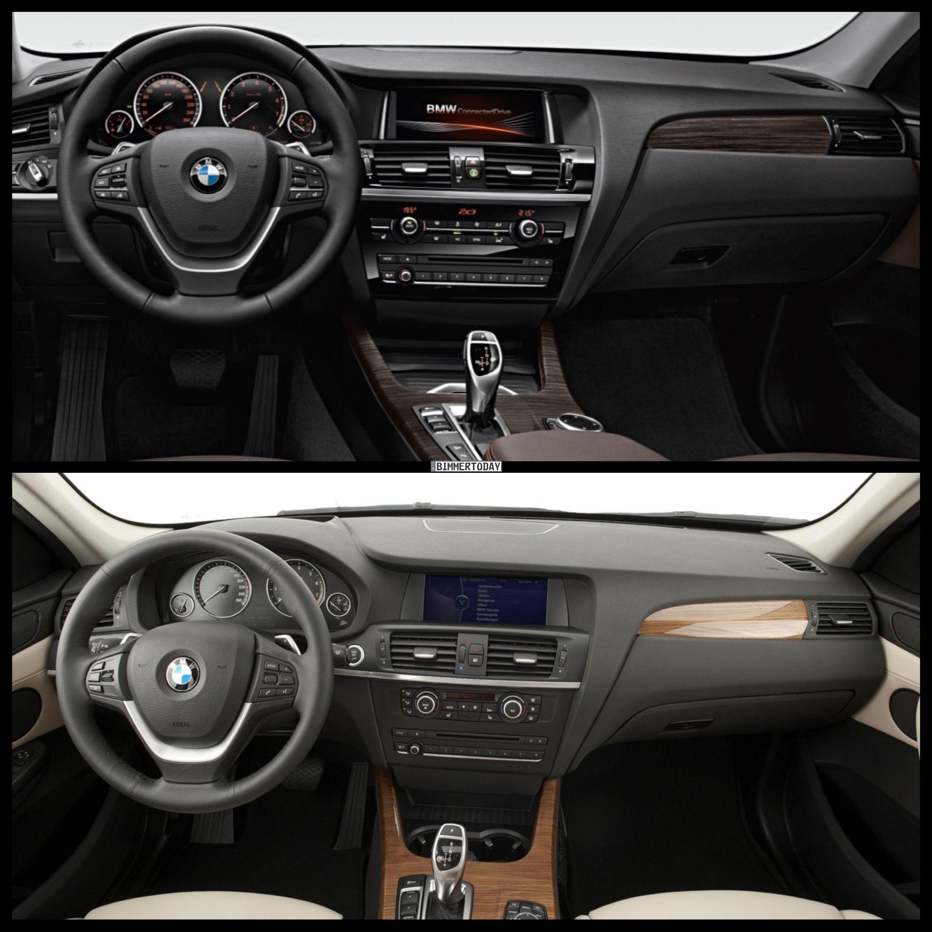 2015 BMW X3 Facelift Vs Pre